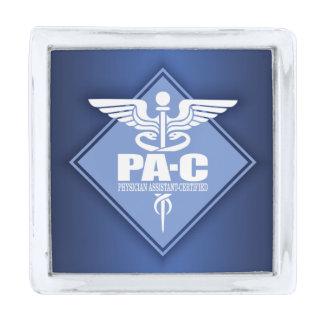 Cad PA-C (diamond) Silver Finish Lapel Pin