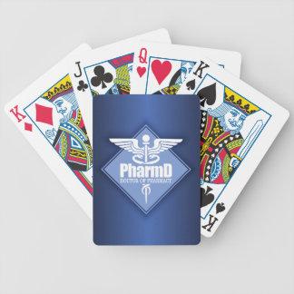 Cad PharmD (diamond) Bicycle Playing Cards
