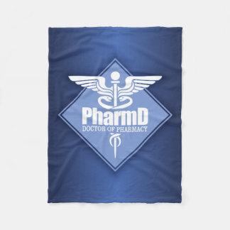 Cad PharmD (diamond) Fleece Blanket