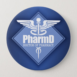 Cad PharmD (diamond) Pinback Button