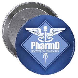 Cad PharmD (diamond) Pinback Button