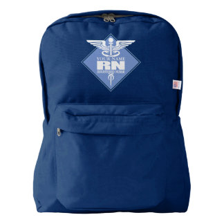 Cad RN (diamond) personalized American Apparel™ Backpack