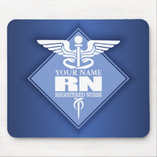 Cad RN (diamond) personalized Mouse Pad