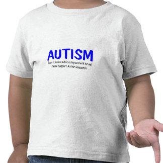Cada 20 minutos un niño nace con autismo camiseta