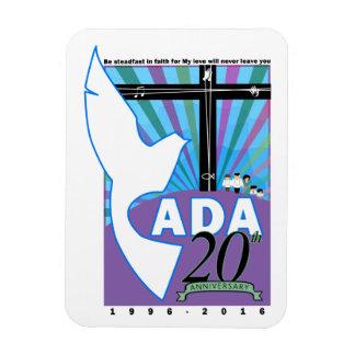 CADA 20TH ANNIVERSARY OFFICIAL LOGO MAGNET