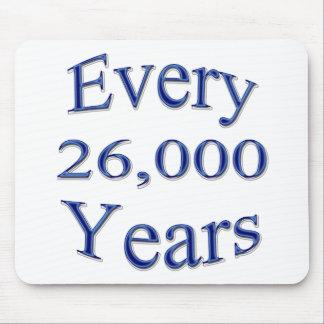 Cada 26000 años mousepad