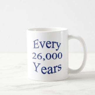 Cada 26000 años taza
