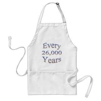Cada 26000 Yearsfade Delantal