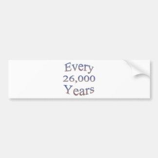 Cada 26000 Yearsfade Pegatina Para Auto