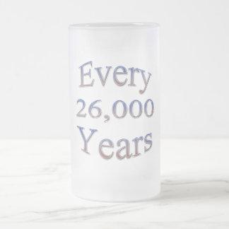 Cada 26000 Yearsfade Taza De Cristal