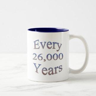 Cada 26000 Yearsfade Taza De Dos Tonos