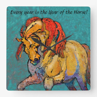 Cada año es el año del RELOJ del caballo
