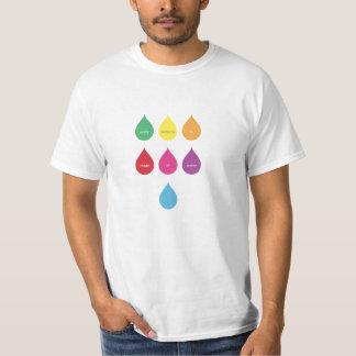 Cada arco iris se hace del agua poleras