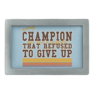 Cada campeón y deportes de los competidores hebillas cinturón rectangulares