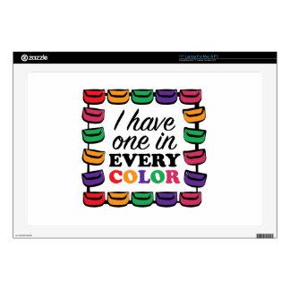 Cada color portátil 43,2cm skins