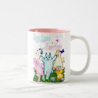 Cada conejito ama la taza de Pascua