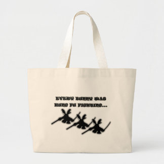 Cada conejito era fu del kung que luchaba… bolsas