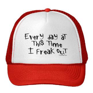 Cada día en este tiempo freak hacia fuera los gorr gorra