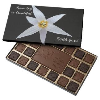 Cada día es caja de regalo hermosa del chocolate caja de bombones variados con 45 piezas