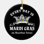 Cada día es carnaval creado para requisitos partic ornamento para arbol de navidad