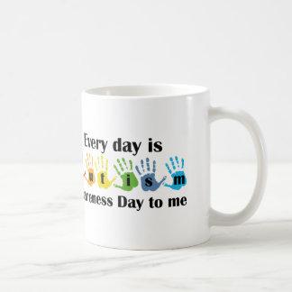 Cada día es día de la conciencia del autismo a mí taza de café