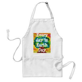 Cada día es Día de la Tierra Delantal