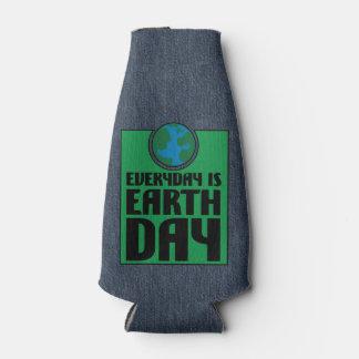 Cada día es Día de la Tierra Enfriador De Botellas