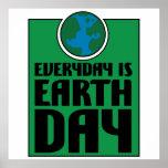 Cada día es Día de la Tierra Impresiones