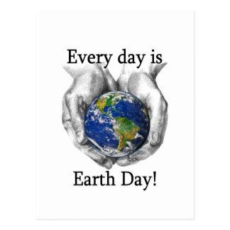 Cada día es Día de la Tierra Tarjeta Postal