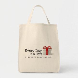 Cada día es un regalo: Más fuerte que el Bolsa Tela Para La Compra