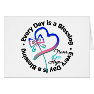 Cada día es una bendición - espere al cáncer de ti tarjetas