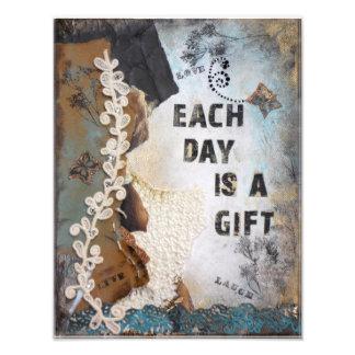Cada día es una impresión de la foto del regalo fotografía