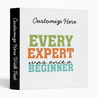 Cada experto era una vez un principiante