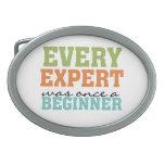 Cada experto era una vez un principiante hebillas de cinturón