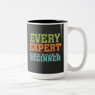 Cada experto era una vez una taza de la pizarra