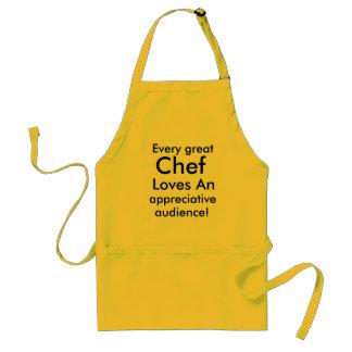 Cada gran delantal del cocinero