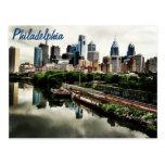 Cada horizonte de las ciudades… Philadelphia Tarjetas Postales