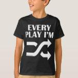 Cada juego soy Shufflin Playera
