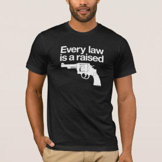Cada ley es una camisa aumentada del arma