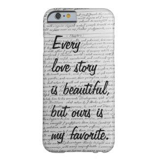 Cada Love Story es