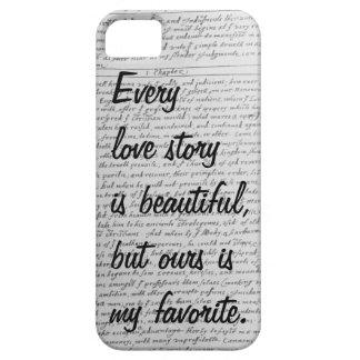Cada Love Story es hermoso nuestro iPhone 5 de la iPhone 5 Case-Mate Carcasa