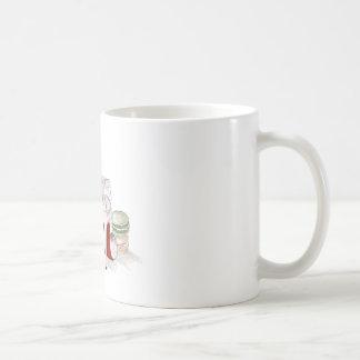 Cada mañana atractiva taza básica blanca