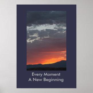 Cada momento un nuevo poster del principio