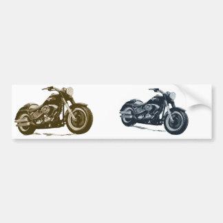 Cada muchacho ama una motocicleta americana azul g pegatina para auto