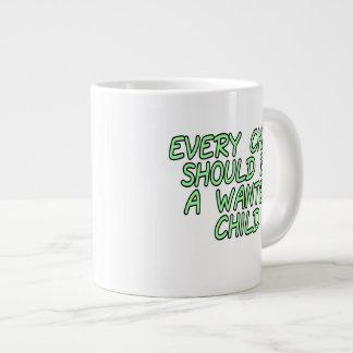 Cada niño debe ser un niño querido taza de café gigante