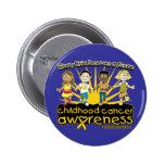 Cada niño merece a un cáncer futuro de la niñez pin