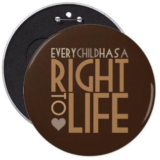 Cada niño tiene una DERECHA A LA VIDA Pins