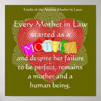 Cada suegra comenzada como madre. posters
