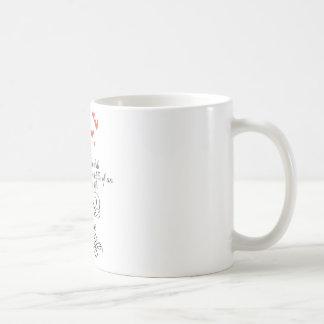 Cada una vez adentro un rato en una vida ordinaria taza básica blanca
