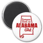 Cada uno ama a un chica de Alabama Imanes